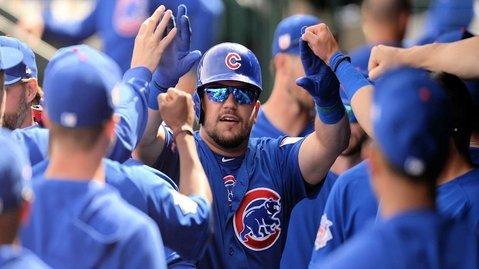 Cubs lineup vs. Marlins, Kyle Schwarber sits