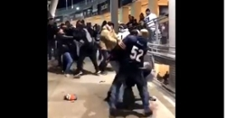 WATCH: Bears and Cowboys fans brawl after 31-24 win