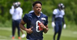 Bears waive rookie wide receiver