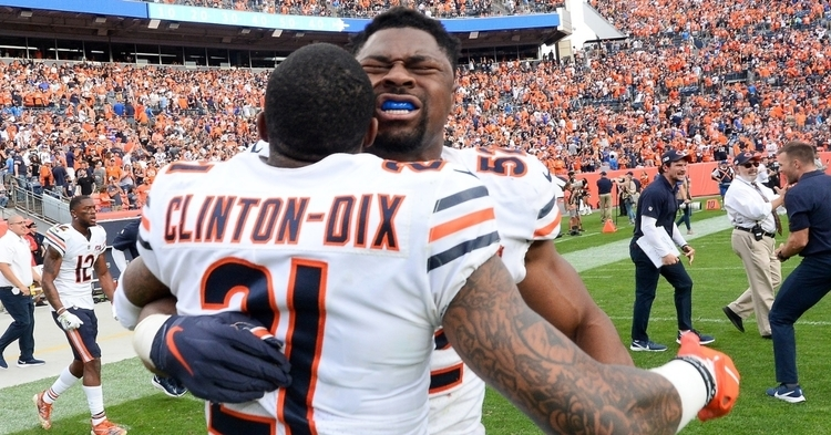 Bears hope to be celebrating after the game (Ron Chenoy - USA Today Sports)
