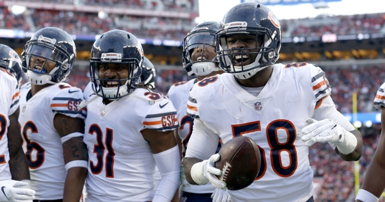 Smith is a key player on the Bears' defense (Cary Edmondson - USA Today Sports)