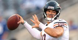 Mitch Trubisky on his benching after hip issue: 'It just sucks.'