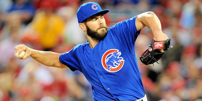 Cubs ace Jake Arrieta was in top form on Wednesday, allowing only two hits in nearly seven innings pitched.