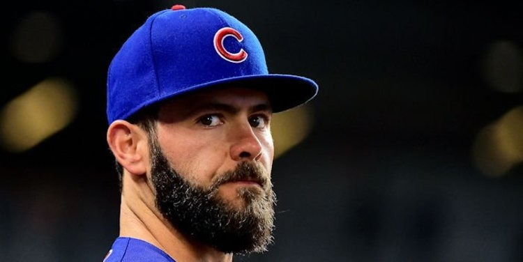 Cubs starting pitcher Jake Arrieta gave up a costly three-run homer on Monday night