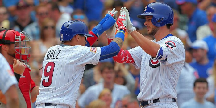 Cubs dominate Mariners with offensive fireworks