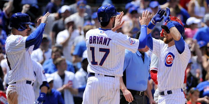 Sunday's comeback was definitely a team effort for the Chicago Cubs.