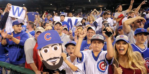 Cubs fans ranked #1 in the Fandom 250 rankings