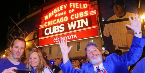 'Go Cubs Go' makes it on the Billboard charts for 1st time
