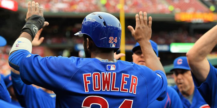 Chicago Cubs center fielder Dexter Fowler made an immediate impact after returning from a long injury layoff on Friday night