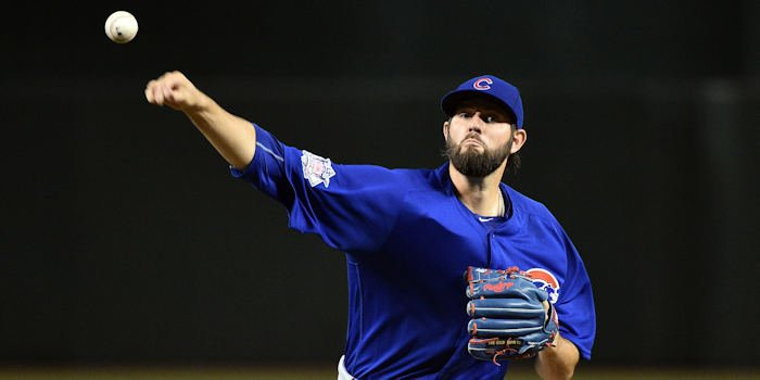 Cubs starting pitcher Jason Hammel endured a woeful outing on Sunday, giving up 10 runs in 3.1 innings on the rubber.