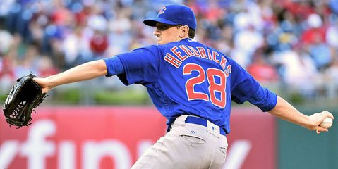 Hendricks named NL Outstanding Pitcher