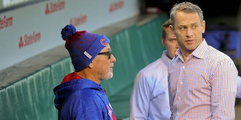 Cubs extend contracts of Jed Hoyer and Jason McLeod