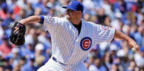 Although he earned a no decision for his efforts, Chicago Cubs ace Jon Lester was magnificent on Sunday, pitching six quality innings in which he gave up zero runs.