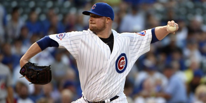 Chicago's Jon Lester imploded in the second inning to waste an otherwise quality start.