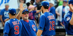 Joe Maddon gets win No. 1000 as Cubs outslug Reds