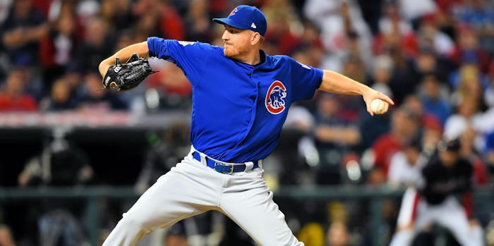 Reliever Mike Montgomery's two-run eighth inning proved to be the nail in the coffin for the Chicago Cubs on Monday night.