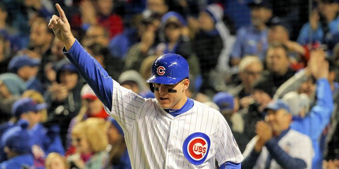 Defensive excellence, especially on behalf of first baseman Anthony Rizzo, was a major factor behind the Chicago Cubs' Game 5 victory. - Jerry Lai-USA TODAY Sports
