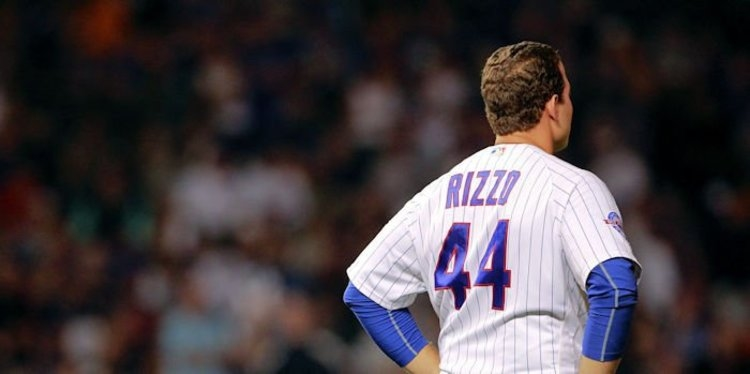 Cubs first baseman Anthony Rizzo was robbed of the game-tying home run in the top of the ninth.