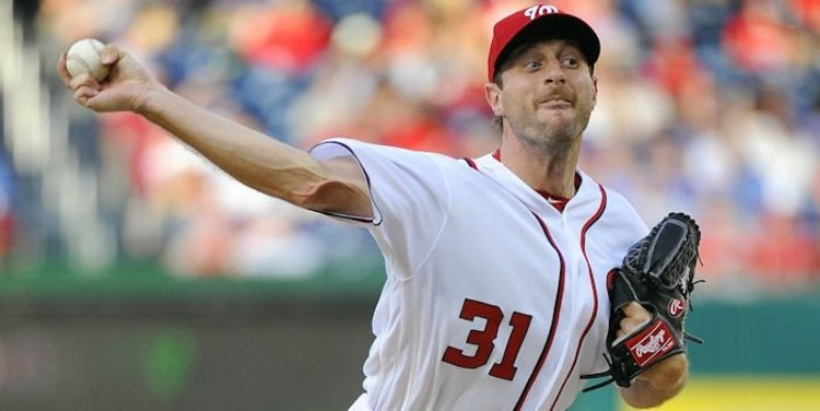 Scherzer strikes out 11 as Cubs fall to Nationals