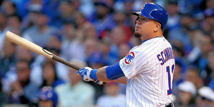 Schwarber is back for Chicago (Jerry Lai-USA TODAY Sports)