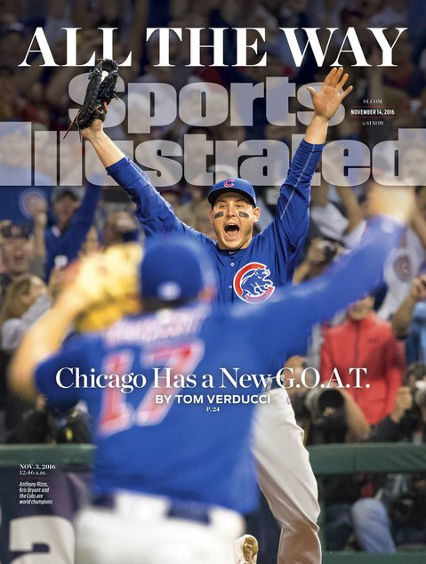 Cubs featured on 5 commemorative Sports Illustrated covers