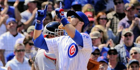 Chicago second baseman Ben Zobrist led the Cubs to victory on Friday night, amassing three RBI from two home runs.