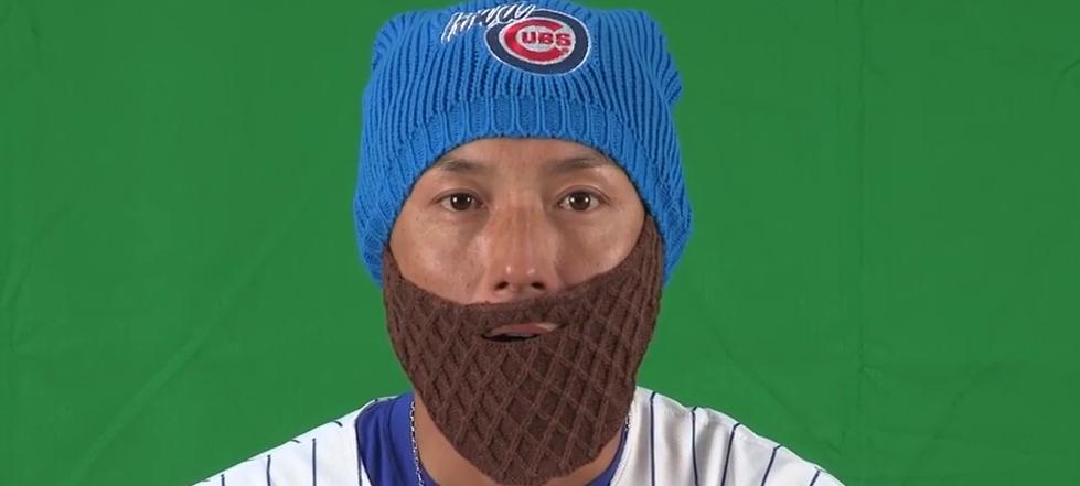 WATCH: Munenori Kawasaki puts on 'Arrieta Beard'