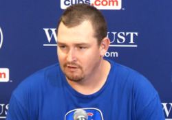 WATCH: Cahill discusses his impressive start vs. Brewers