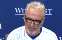 "Maddon on Hammel: ""He kept getting better"""