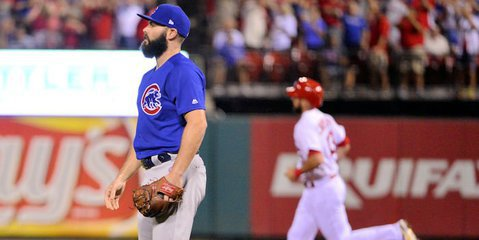 Arrieta was not impressive on Tuesday night (Jeff Curry - USA Today Sports)