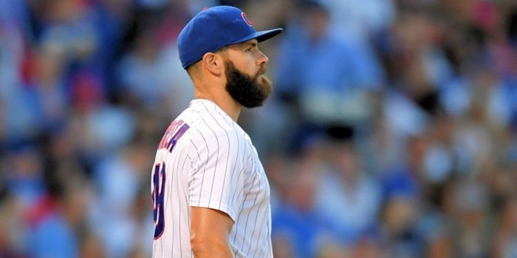 One bad inning ultimately ruined Jake Arrieta's start on Saturday, an all-too-common theme of the right-hander's season thus far. Photo Credit: Patrick Gorski-USA TODAY Sports