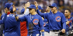 Cubs win 7th straight on combined one hitter