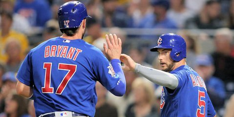 Despite early success at the plate, the Cubs went cold in the second half of the contest. (Photo Credit: Charles LeClaire - USA Today Sports)