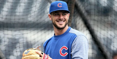 Kris Bryant leaves game with injury