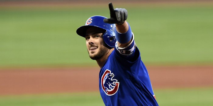 Kris Bryant put the Cubs on the scoreboard early, but it proved to not be enough. Credit: Bob DeChiara-USA TODAY Sports
