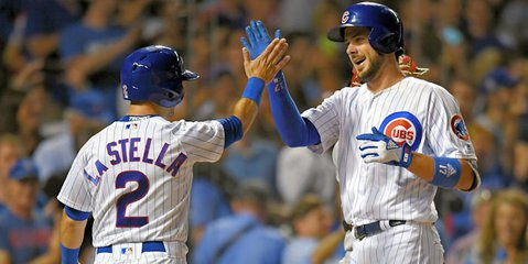 Cubs third baseman Kris Bryant is playing his best baseball of the season right now. Photo Credit: Patrick Gorski-USA TODAY Sports