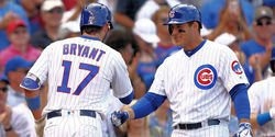 Chicago Cubs lineup vs. Brewers: Kris Bryant and Anthony Rizzo out