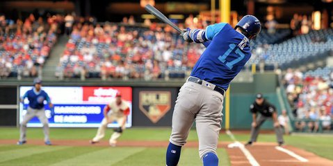 Kris Bryant was one of four Cubs to hit a home run on the night, with two of those four hitting multiple bombs. (Photo Credit: John Geliebter-USA TODAY Sports)
