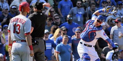 Contreras runs hot-tempered at times (Matt Marton - USA Today Sports)