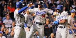 Hernandez hits three homers as Dodgers send Cubs packing
