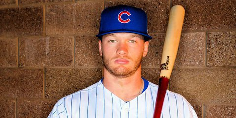 Cubs starlet Ian Happ made a mark with a two-run homer in his Chicago debut, but it was not enough for the North Siders to get the win. Credit: Mark J. Rebilas-USA TODAY Sports