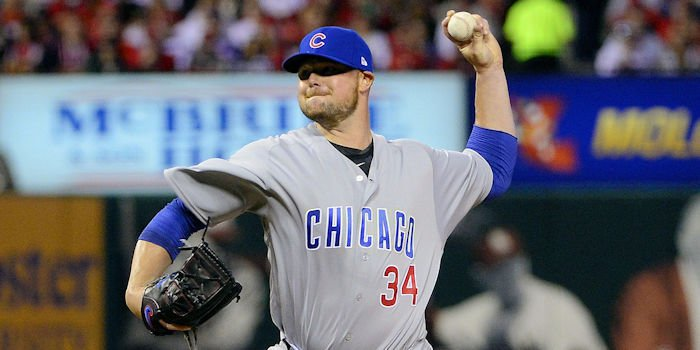 Cubs ace Jon Lester was taken to task in the sixth inning, and it ultimately ruined his otherwise solid start.