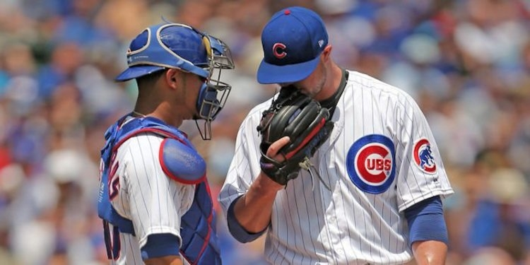 The battery of Jon Lester and Willson Contreras was back with bells on tonight.