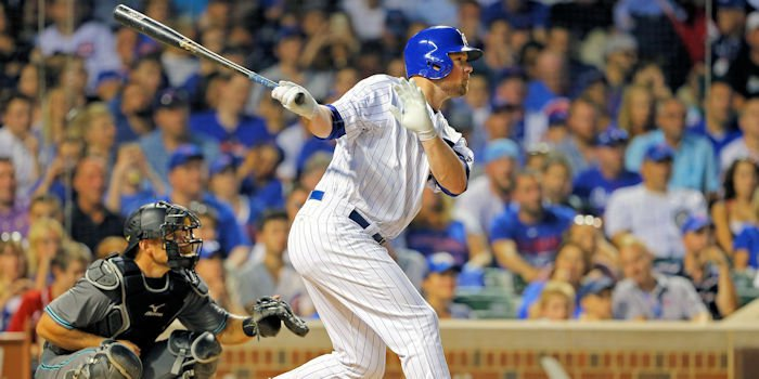 It took Jon Lester 11 years in the majors to do so, but he finally hit a big-league home run. Photo Credit: Aaron Doster-USA TODAY Sports