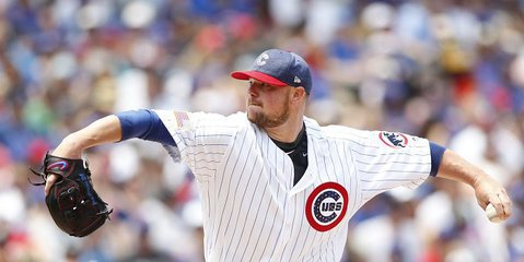 Chicago Cubs ace Jon Lester was far from effective in his Independence Day outing. Photo Credit: Caylor Arnold-USA TODAY Sports