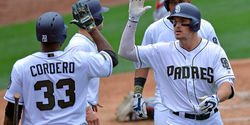Grand slam lifts Padres to victory over Cubs