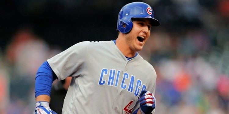 Batting leadoff for the first time in his career, Chicago first baseman Anthony Rizzo made a viable case for becoming the Cubs' everyday leadoff hitter. Credit: Brad Penner-USA TODAY Sports