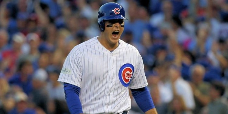Rizzo is back for the Cubs in 2021 (Jerry Lai - USA Today Sports)