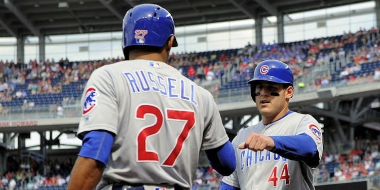 Eight games into their 11-game road trip, the Chicago Cubs are 4-4. Photo Credit: Brad Mills-USA TODAY Sports