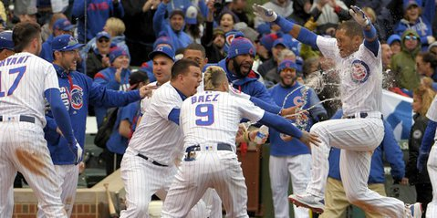 Cubs hope to be celebrating in 2017 (Dennis Wierzicki - USA Today Sports)